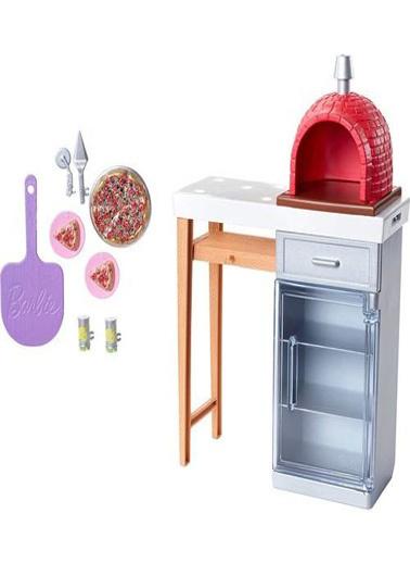 Barbie Unisex Çocuk Barbienin Ev Dışı Dekorasyonu Aksesuarları Oyuncak U302854 Renkli